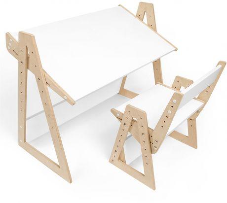 Комплект детской растущей мебели Кантри