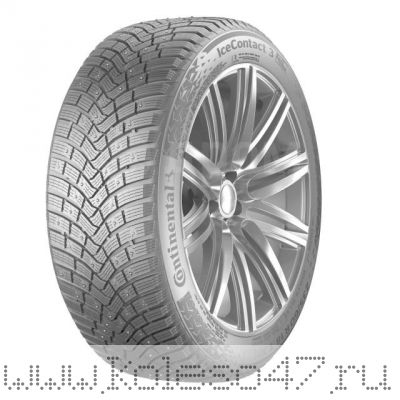 255/65R17 114T XL FR Continental Ice Contact 3