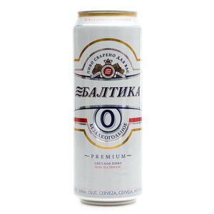 Пиво Балтика №0 б/алк 0,45л ж/б Балтика