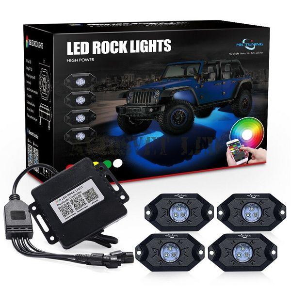 Подсветка днища автомобиля светодиодная MUD LIGHT MONSTER ASA4