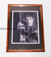 Автограф: Боб Дилан