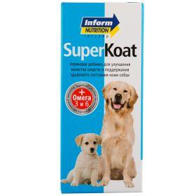 Inform Nutrition Super Coat Кормовая добавка для улучшения состояния кожного покрова у собак, 150 мл