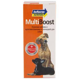 Inform Nutrition Multi Boost Кормовая добавка для нормализации обмена веществ и повышения резистентности организма у собак, 150 мл