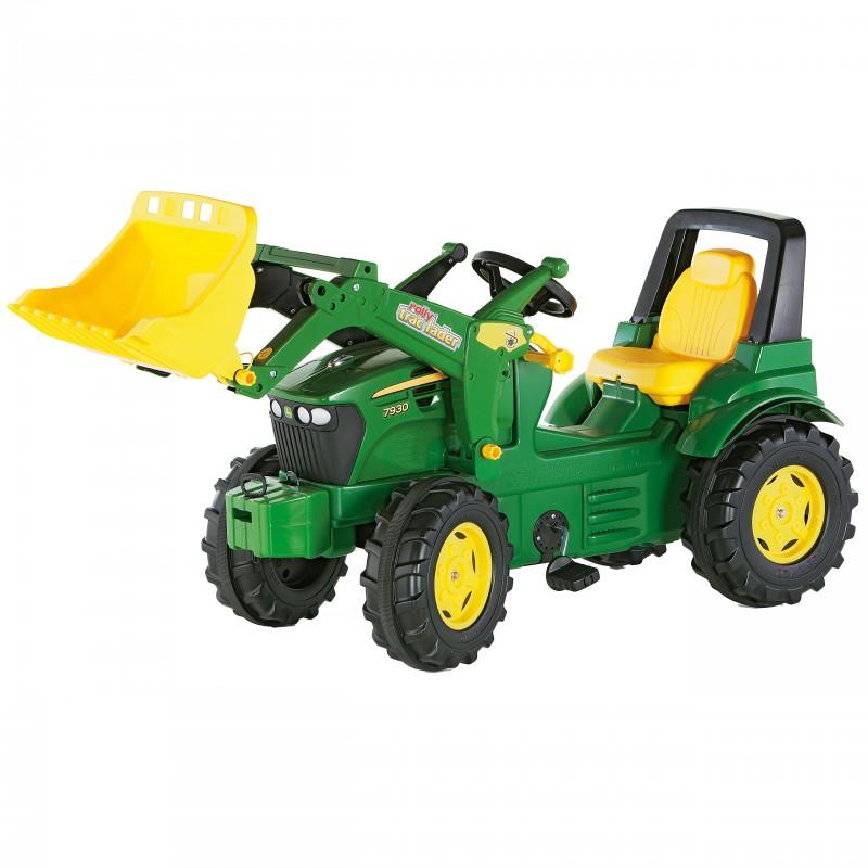 Трактор на педалях Rolly Toys 710027