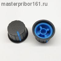 Ручка потенциометра Черно-Синяя