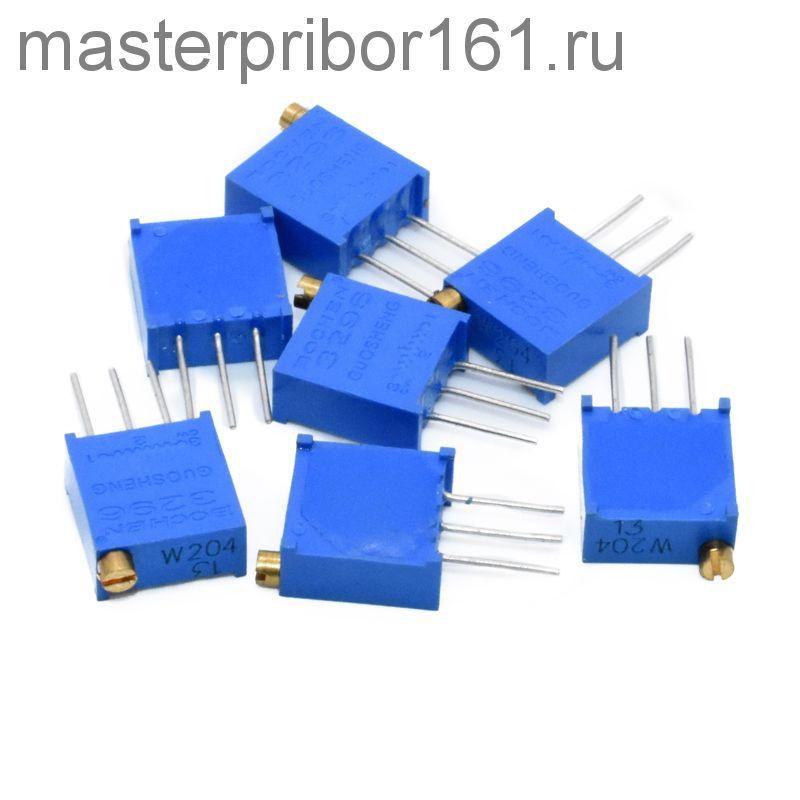 Потенциометр 3296W-500, 50 Ом