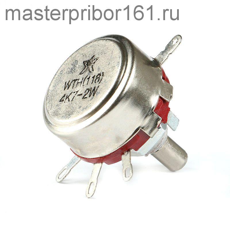 Потенциометр  WTH118   4.7 мОм