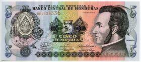 Гондурас 5 лемпир 2008