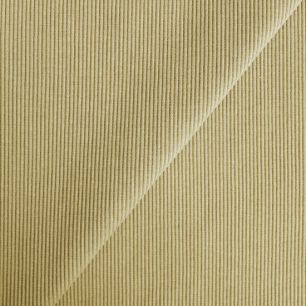 Лоскут трикотажной ткани кашкорсе - Пыльно-горчичный 50*27 см.