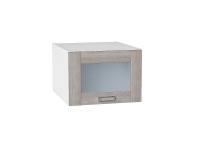 Шкаф верхний Лофт ВГ510 со стеклом (cappuccino veralinga)