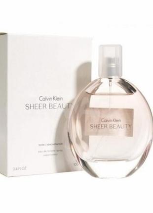 Тестер Calvin Klein Sheer Beauty 100 мл