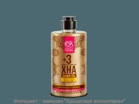 Шампунь Хна +3 для нормальных и сухих волос Крымская Роза 450 мл