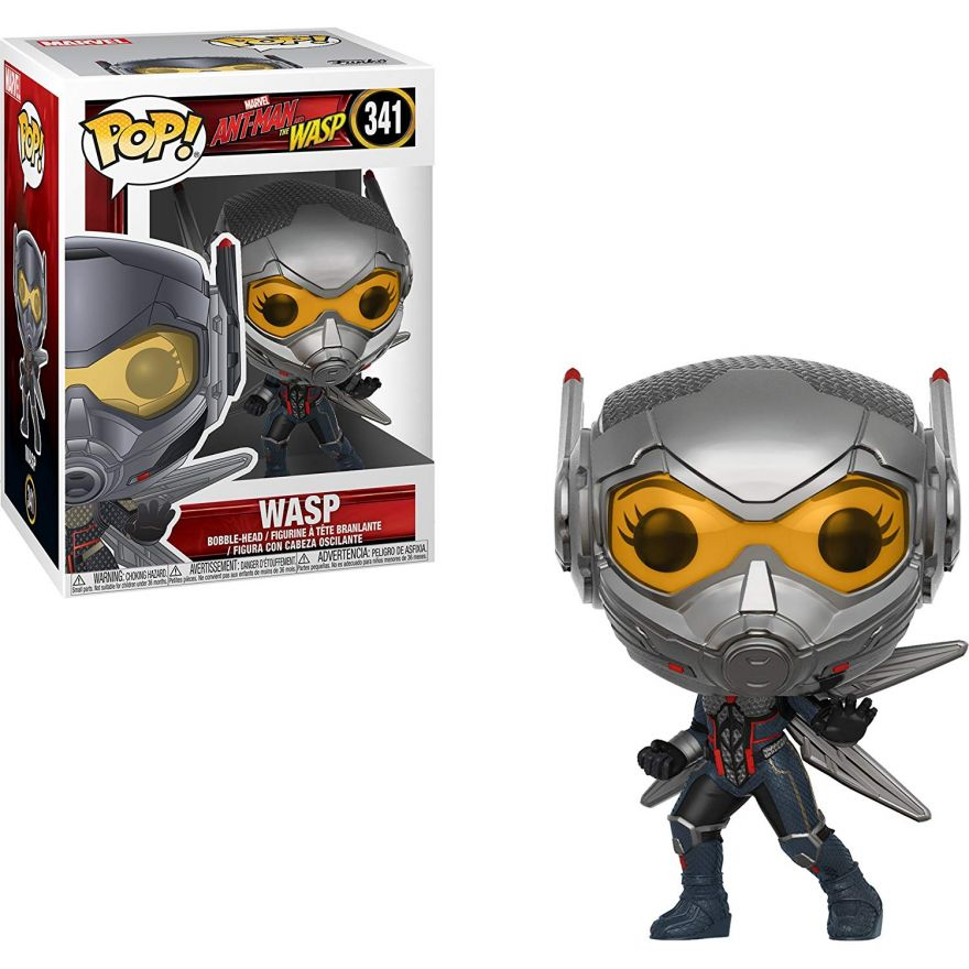 Фигурка Funko POP! Bobble: Marvel: Ant-Man & The Wasp: Wasp w/Chase 30730