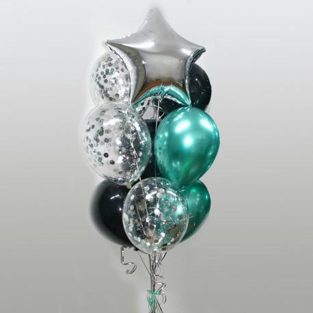 Фонтан из шаров для мужчины
