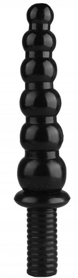 Черный жезл  Ожерелье  с рукоятью - 35,5 см.