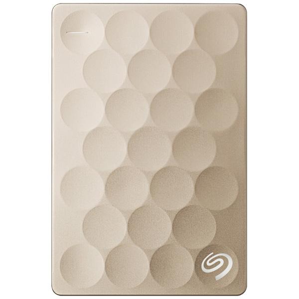 "Внешний жесткий диск 2.5"" Seagate Backup Plus Ultra Slim 2TB Gold (STEH2000201)"