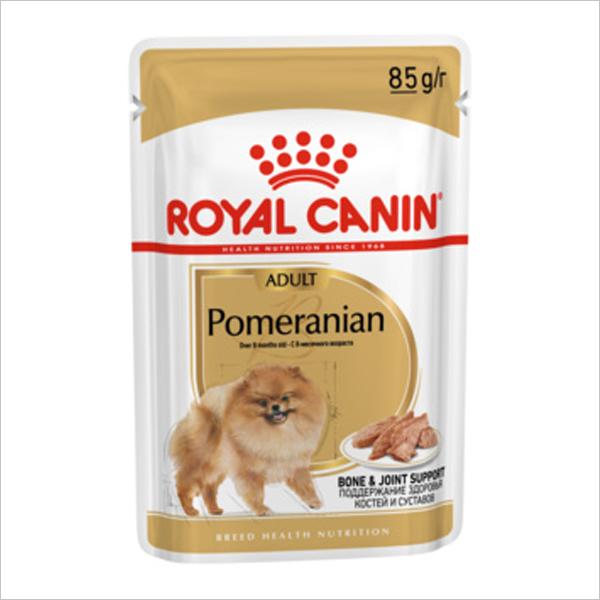Влажный корм для собак ROYAL CANIN Pomeranian померанский шпиц