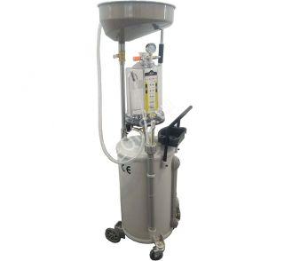 ES-2097 Установка для слива отработанного масла 80л. Воронка+предкамера+6 щупов