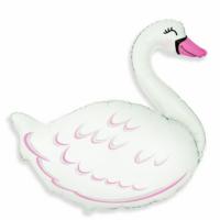 Шар  Фигура  Лебедь, Белый (35''/89 см)