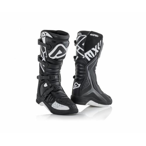 Мотоботы кроссовые Acerbis X-TEAM BLACK/WHITE