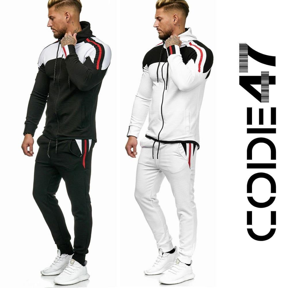 Спортивный костюм Code47 Black x White