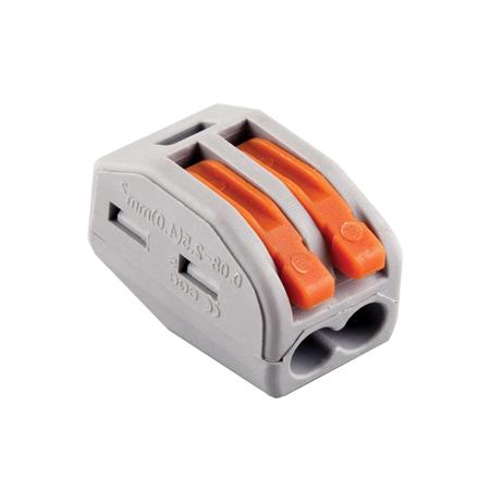 Соединитель WAGO 222-412 на 2 провода (50шт)