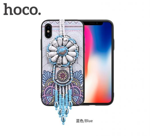 Защитный чехол HOCO Chinese dream для iPhoneX, синий