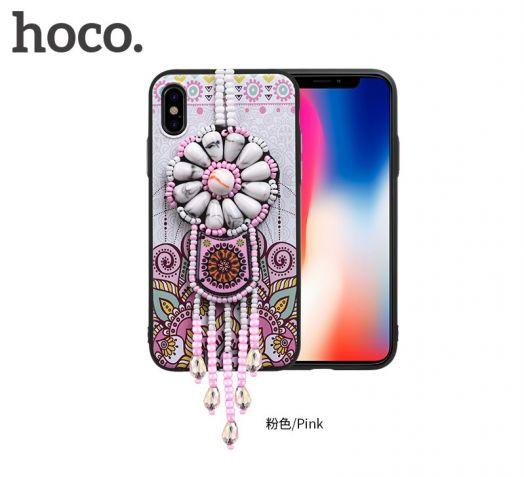 Защитный чехол HOCO Chinese dream для iPhoneX, розовый