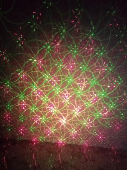 Уличный Лазерный Проектор Звездный Дождь с узорами