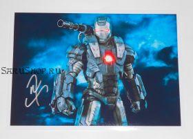 Автограф: Дон Чидл. Железный человек 2, Мстители