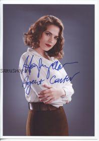 Автограф: Хейли Этвелл. Агент Картер / Agent Carter. Мстители