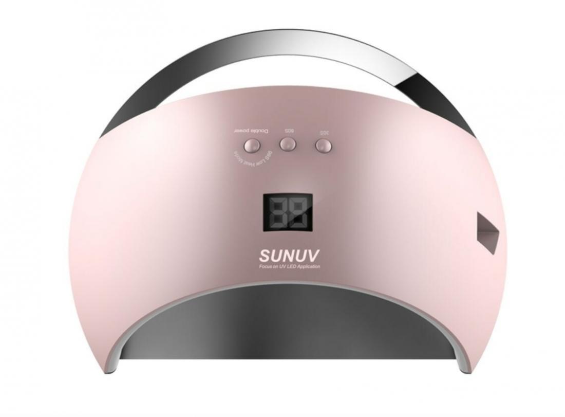 ' UV/LED лампа SUN 6, 24/48 Вт. Smart 2.0. (Pink)