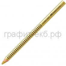 Карандаш JUMBO GRIP золотой Faber-Castell 110981