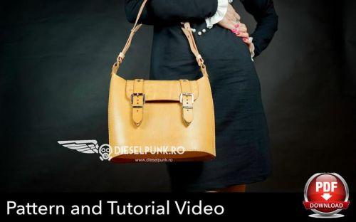 Женская кожаная сумочка [DieselpunkRo]