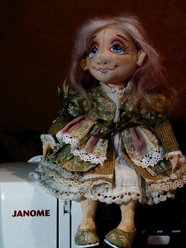 Видео мастер-класс 'Текстильная шарнирная кукла' (Елена Диденко)