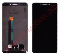 Дисплей для Nokia 6.1 ( TA-1016 / TA-1043 / TA-1045 / TA-1050 / TA-1089 ) в сборе с тачскрином