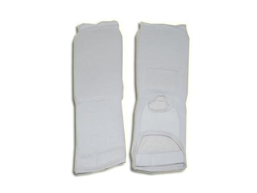 Защита голень - стопа, белая, размер универсальный 03801