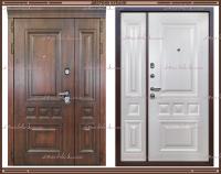 Входная дверь Классика Golden oak / Шелк жемчужный 2200 х 1200 Россия
