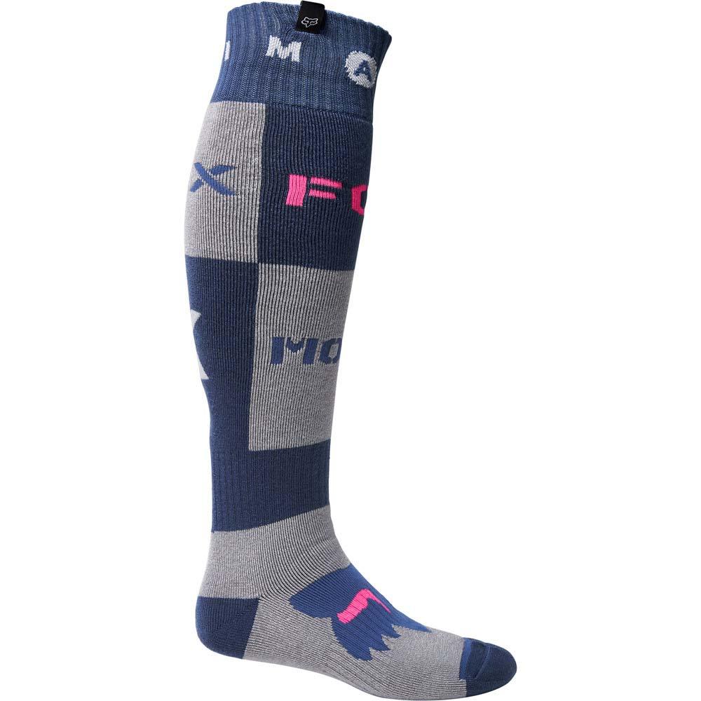 Fox Nobil Fry Thick Socks Dark Indigo (2022) носки для мотокросса и эндуро