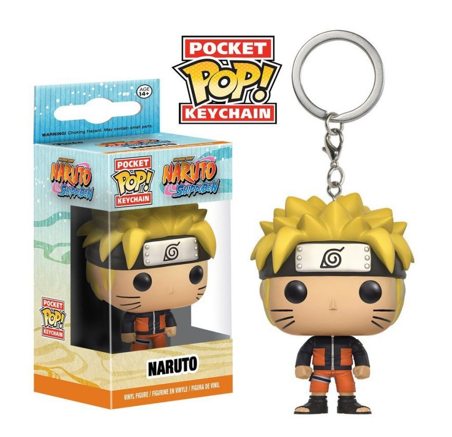 Брелок Funko Pocket POP! Keychain: Naruto: Naruto 10663-PDQ