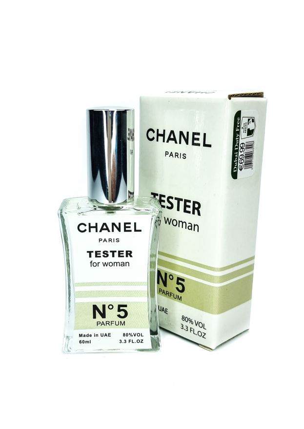 Chanel №5 Parfum (for woman) - TESTER 60 мл