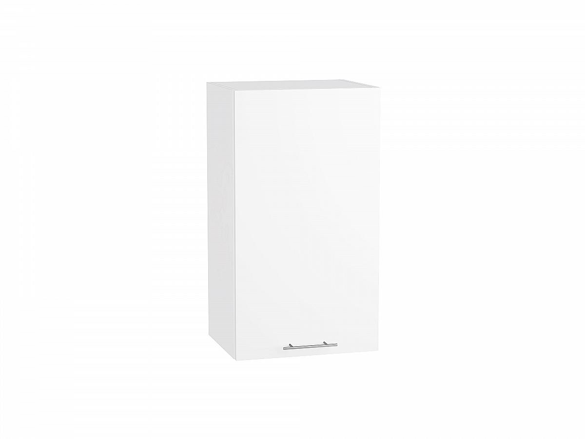 Шкаф верхний Валерия В409 белый глянец