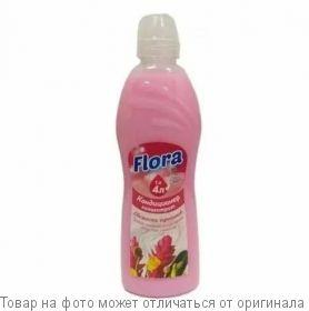 Flora Кондиционер-концентрат д/белья FLOSSY 1000мл Свежесть Тропиков (1л=4л)/12, шт