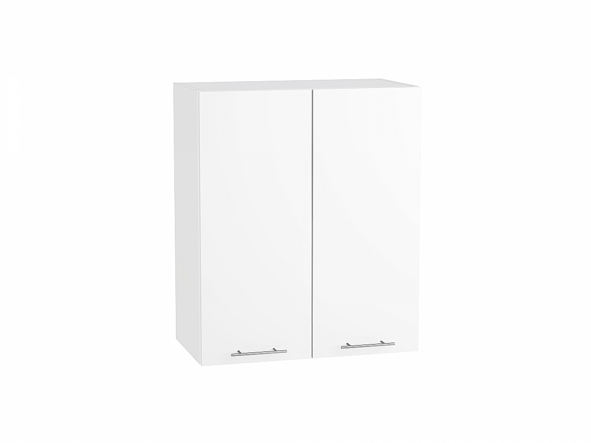 Шкаф верхний Валерия В600 белый глянец