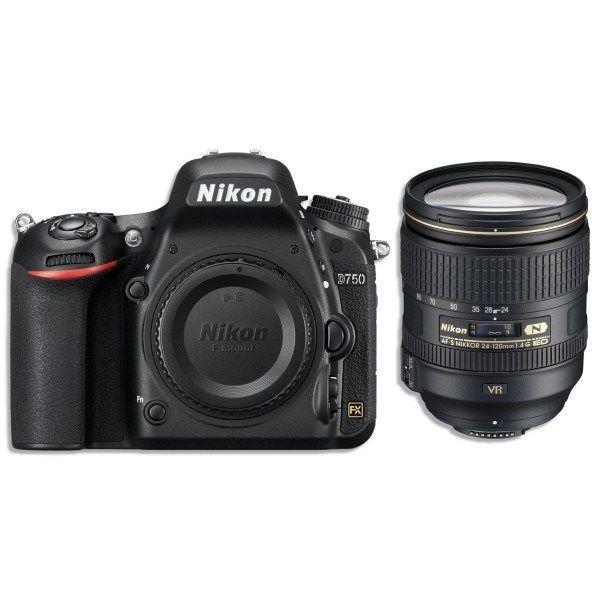 Nikon D750 Kit 24-120mm f/4G ED VR AF-S Nikkor