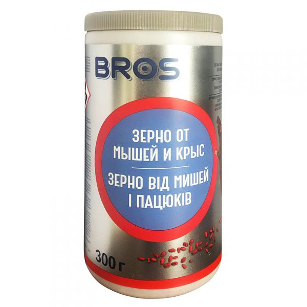 Протравленное зерно (300 г) от Bros, Польша