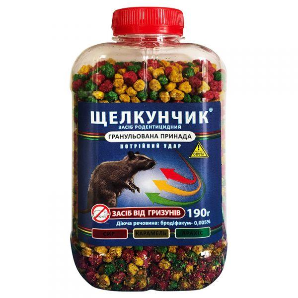 """Щелкунчик"", гранулы (190 г) от ""Агро Протекшн"", Украина"