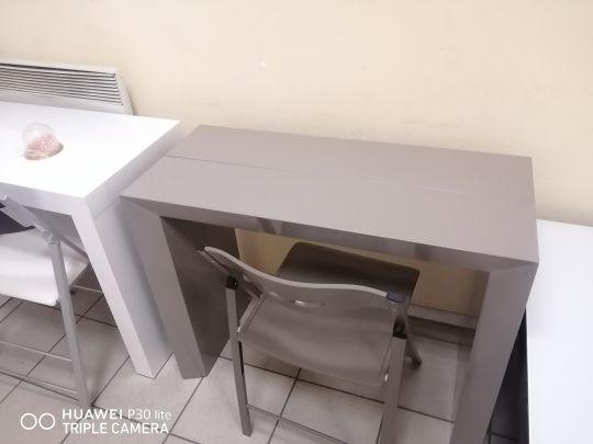 Стол консоль-трансформер B 2316P капучино лак глянец