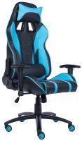 Компьютерное кресло Everprof Lotus S16 Чёрное с голубым