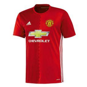 Детская игровая футболка клуба adidas Manchester United Football Club Home Jersey красная